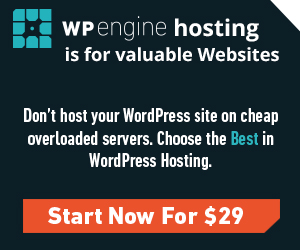 WP Engine Premium WordPress Hosting